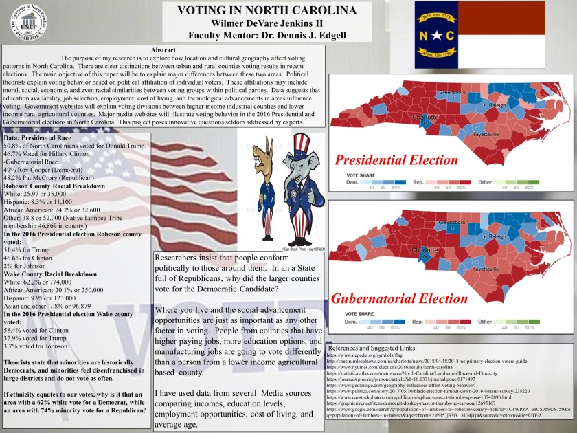Jenkins voting in nc poster
