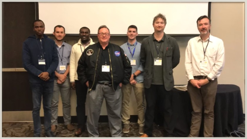 some of the current Kent State climatologists at AGC 2018
