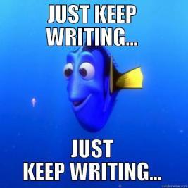 aaa just keep writing dorymeme