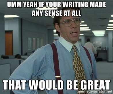 aaa writing that-would-be-great