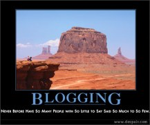 arid land blogging