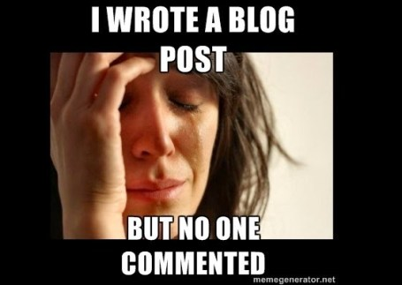 no blogging-comment