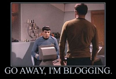 spock blogging