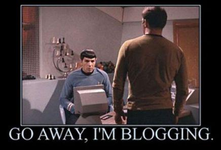 spock blogging