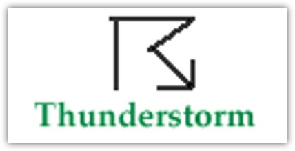 thunderstorm symbol