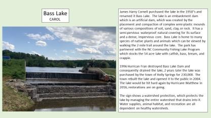 carol at bass lake dam