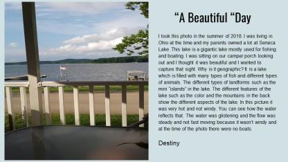 Destiny Photo Contest