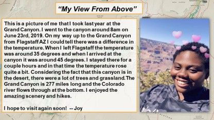 Geography Photo Contest- Joy
