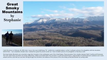 Great Smoky Mountains Stephanie