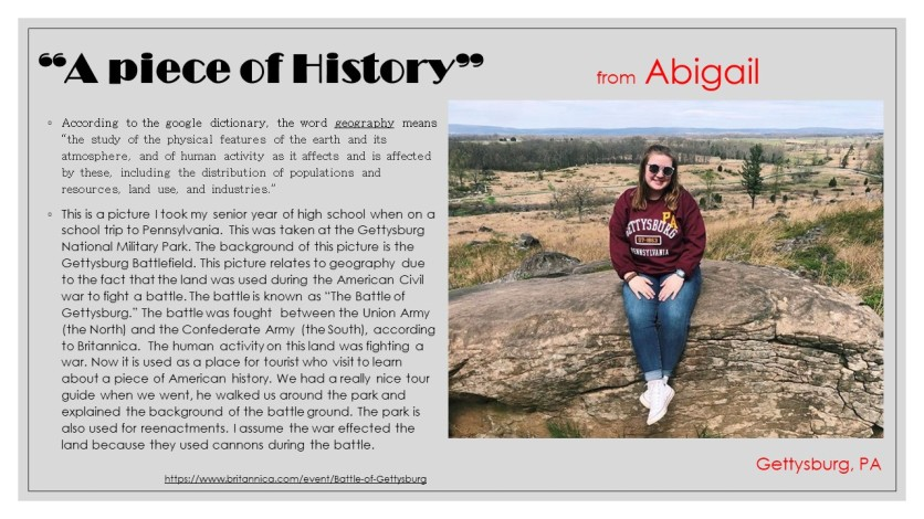Geography - Abigail