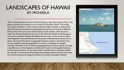 hawaii photo and maP