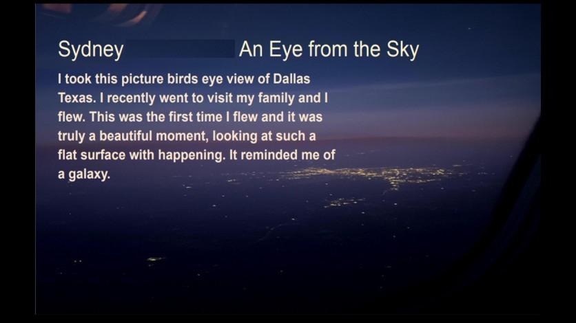 sidney eye in sky