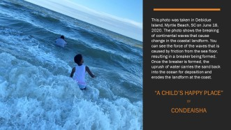 a childs happy place ocean waves