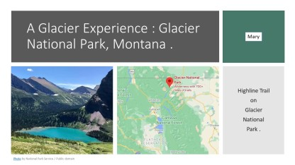 GLacier national Park MARY
