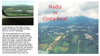 Nadia in coasta rica years and years ago