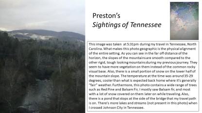 prestons sightings in tn