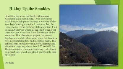 Hiking Up the Smokies