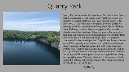 Quarry Park-Barry
