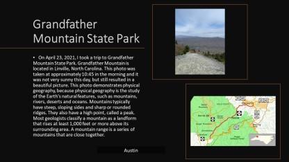 Austin at Grandfather Mountain