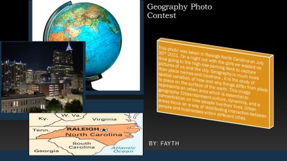 fayth in geography photo