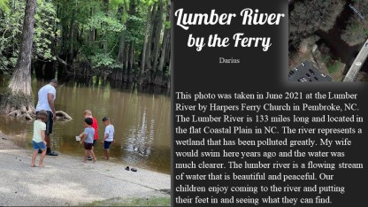 Lumber River by the Ferry