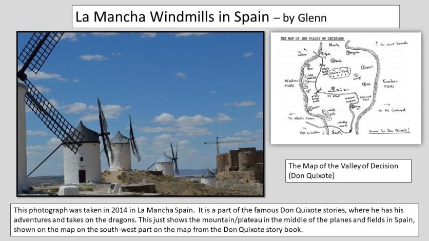 man de la mancha windmills
