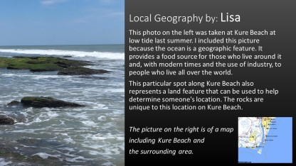 tidal geography by local Lisa