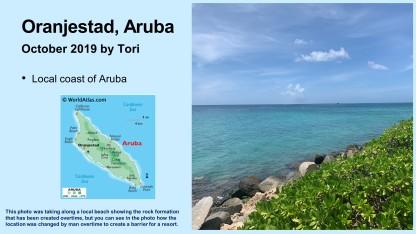 tori 21st in aruba