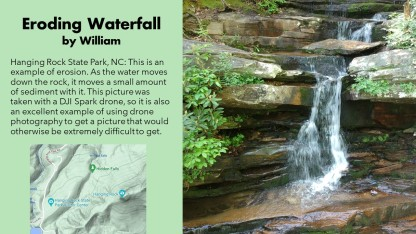 William Waterfall by Drone